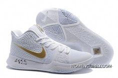 "627e452380c Buy ""White Ice"" Nike Kyrie 3 White Gold Men s Basketball Shoe Authentic  from Reliable ""White Ice"" Nike Kyrie 3 White Gold Men s Basketball Shoe  Authentic ..."