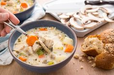You're done with Thanksgiving, but not done with turkey leftovers. This turkey soup recipe is easy to make. Eat it now or freeze it for later.