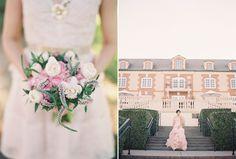 Wedding Blog Blush Vera Wang Engagement Shoot