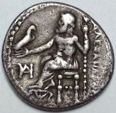 Greek Antiquity - Macedonia - Alexander III the Great (336-323 BC) - AR Drachm - Miletus mint, ca. 325-323 BC - Price 2090