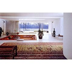 The Miller House . Alexander Girard . Eero Saarinen 1953