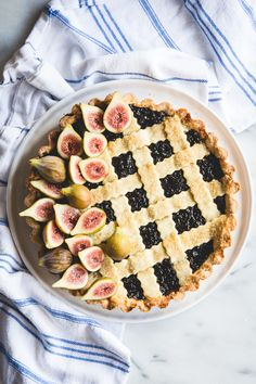 fig & lemon crostata