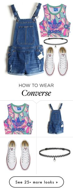 """""""Today's Outfit ✌️✌"""" by rndmchick on Polyvore featuring adidas Originals, Converse and BERRICLE Outfits 2016, Winter Outfits, Cute Outfits, School Outfits, Look Fashion, Fashion Outfits, Teaching Outfits, Outfits With Converse, 90s Outfit"""
