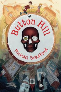"""AGE: 12+ - Kirkus Reviews - January 1, 2015 [Starred review] """"A moment's messing with an odd clock plunges a lad into the strange and dangerous borderland between the living world and the realms of the dead in this decidedly offbeat chiller...Though strewn with scary creatures and tons of spooky bones, the tale is also leavened with tongue-in-cheek elements...Both Dekker and Riley are admirably clever, and Bradford keeps the stakes satisfyingly high. Rare, scary fun. With tomatoes."""""""