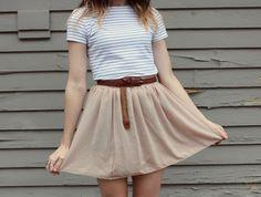 Beige + stripes