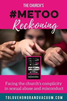 What happens when the church, which is supposed to be your safe haven, becomes the place where you are abused? The #MeToo Reckoning looks at how the church has often been complicit in covering up sexual abuse in churches, or has actually enabled sexual abuse by some of the ways that it talks about authority, gender, and sex. #metoointhechurch #abuseinthechurch #podcast #abuse #abusevictims #metoo #tolovehonorandvacuum