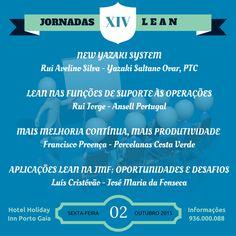 JORNADAS DE BOAS PRÁTICAS LEAN  Inscrições abertas (€15.00), Informações: customer@cltservices.net (936000088)