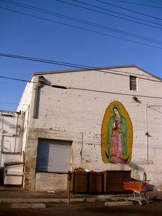 Virgen de Guadalupe | Mural | Street Art | Echo Park | Los Angeles, CA