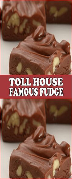 Famous Fudge You can't beat the original. Satisfy your chocolate craving with some Toll House Famous Fudge. can) NESTLÉ® CARNATION® Evaporated Milk 2 tablespoons butter or margarine teaspoon salt 2 cups Christmas Desserts, Christmas Baking, Christmas Recipes, Christmas Candy, Christmas Cheesecake, Holiday Candy, Christmas Goodies, Holiday Recipes, Candy Recipes