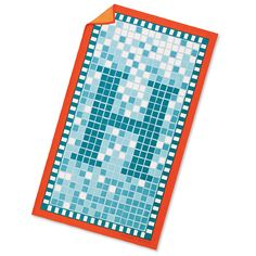 From Gucci to Pucci, the Prettiest Designer Beach Towels - Hermès Piscine Towel  - from InStyle.com