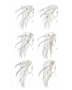 A few different hair braiding tutorials