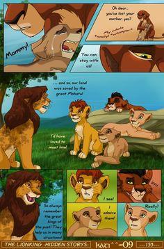 tlk-hs-page 153 by kati-kopa on DeviantArt Disney Fan Art, Disney Fun, Disney Magic, Lion King Story, Lion King Fan Art, Hakuna Matata, Funny Dog Memes, Funny Dogs, Lion King Funny