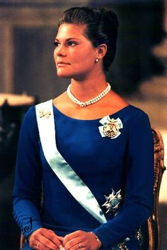 Crown Princess Victoria 18 years old - Victoriadagen 1995 Victoria's declaration of majority took place in the Hall of State at the Royal Palace of Stockholm on 14 July 1995. As of the day she turned 18, she became eligible to act as Head of State when the King is not in country. Victoria made her first public speech on this occasion.