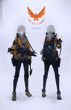 video game character designs