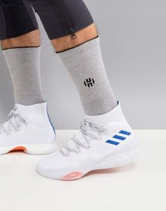 size 40 6a517 f68cc Adidas adidas Basketball Crazy Explosive 2017 Primeknit Sneakers In White  CQ0611 Crosstraining, Sportschoenen, Basketbal