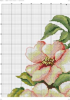 h 3 Cross Stitch Fruit, Cross Stitch Kitchen, Cross Stitch Rose, Cross Stitch Flowers, Cross Stitching, Cross Stitch Embroidery, Hand Embroidery, Cross Stitch Patterns, Crochet Cross