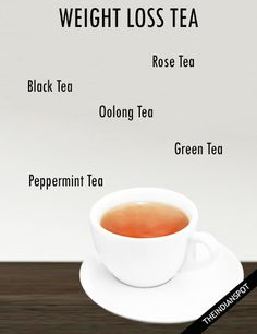5 herbal teas to help you lose weight. #WeightLossTea #GreenTea #HerbalTea Best Weight Loss Plan, Weight Loss Tea, Weight Loss Drinks, Fast Weight Loss, How To Lose Weight Fast, Fat Burning Supplements, Weight Loss Supplements, Local Fast Food, Wise Foods