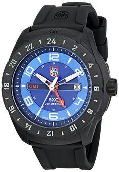 Luminox Men s 5023 SXC PC Carbon GMT Analog Display Analog Quartz Black  Watch  3ff42cfd85