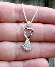 Sterling Silver Dancing Wedding Couple Anniversary Charm Pendant Necklace Gift #Handmade #Pendant