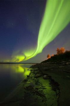 wow, great shot - Mackenzie River in Fort Simpson, Northwest Territories ~ Dave Brosha