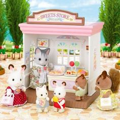 Sylvanian Families are an adorable range of distinctive animal characters with charming and beautiful homes, furniture and accessories. They live, work and play in the idyllic and wonderful land of Sylvania. Play Shop, Fairy Cakes, Animal Rescue Site, Sylvanian Families, Arched Windows, House Of Fraser, Christmas Wishes, Christmas Picks, Classic Toys