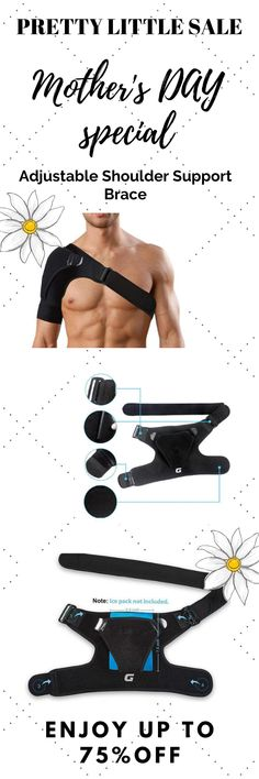 Don't Let Chronic Shoulder Pain Limit Your Mobility Relieve The Discomfort With This Awesome Strap! Shoulder Support Brace, Shoulder Brace, Shoulder Muscles, Gym Workout Videos, Gym Workouts, Shoulder Dislocation, Rotator Cuff Tear, Fantasy Clothes, Frozen Shoulder