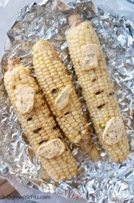 Grilled Corn with Sr
