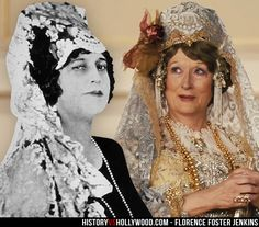 Real Florence Foster Jenkins and Meryl Streep - loved the movie.
