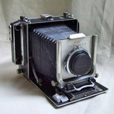 Camera Antiga Linhof Technika Completa Acessórios Case Etc. - R$ 1.300,00
