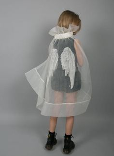 Carbon Soldier brilliant kids fashion from New Zealand Beautiful embroidered wings organza cape by Carbon Soldier for kidswear Kids Fashion, Womens Fashion, Fashion Tips, Fashion Design, Hijab Fashion, Korean Fashion, Winter Fashion, Cool Style, My Style