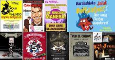 Agenda | Abren las 'txosnas' + 5 conciertos en bares + teatro Arimaktore + cine con Cantinflas