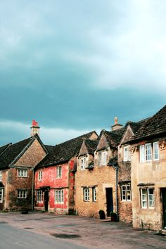 Stone Cottages in Lacock, England
