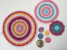 annelie crochet mandalasformarinke