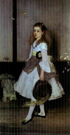 Whistler, James McNeill (1834-1903) - 1872-74 Harmony in Gray and Green: Miss Cicely Alexander, Tate Gallery, London