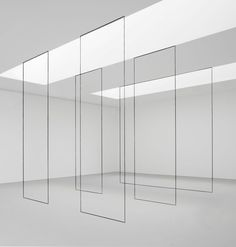 """Primary atmospheres of intelligence and quiet beauty."" (David Zwirner Gallery : Primary Atmospheres)"