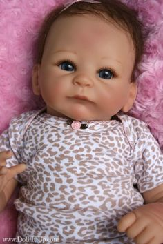 This is all about a collectible baby doll, Little Peanut, from Ashton-Drake.