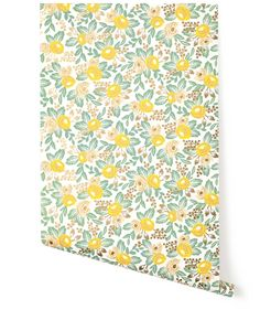 For the hallway.  Rosa (Yellow) from Hygge  #HyggeAndWestPinToWin