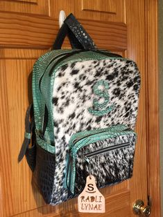 Backpack Bags, Fashion Backpack, Cactus Backpack, Cowhide Bag, Leather Diaper Bags, Western Chic, Cute Bags, Distressed Leather, Custom Leather