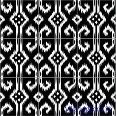 Ikat pattern flooring- maybe for a bath? Save your pennies! Motif Ikat, Ikat Pattern, Pattern Mixing, Pattern Art, Pattern Design, Tribal Patterns, Line Patterns, Textile Patterns, Cool Patterns