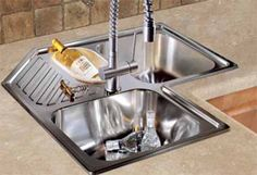 Corner Kitchen Sink4