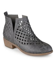 Loving this Gray Kat Bootie on #zulily! #zulilyfinds