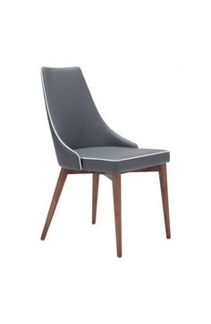 100278 - MOOR DINING CHAIR DARK GRAY