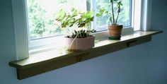 window ledge shelf | Picnic table and benches Window Sill Shelves