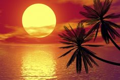 """Enjoy the sunset and 3 of my """"First Love"""" poems!   ♥♥ www.paintingyouwithwords.com"""