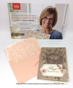 Sue Lehrer, Demonstrator business web site (DBWS) for Stampin' Up! Order Stampin' Up! product online from me anytime and see my projects and events. Independent demonstrator and creative coach. Paper Pumpkin, Vintage Vibes, Craft Kits, Envelopes, Favorite Color, Stampin Up, Adhesive, Layers, Chair