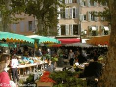 best markets in Provence