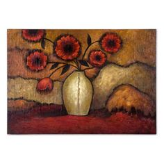 Have to have it. Red Poppies Canvas Wall Art - 68W x 48H in. $349.80