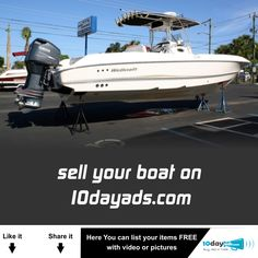 Sell your boat on 10dayads.com  #Sellyourboat #Freeboatsellads #Freeonlinesell #Onlineclassifiedads