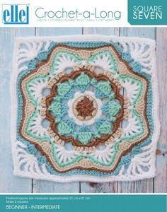 CAL Square 7 - Crochet-a-Long - Patterns