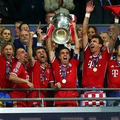 Bayern Muenchen - Champion of UEFA Champions League 2013